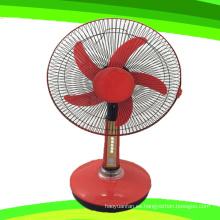 Hoja 5 pulgadas 16 24V DC soporte ventilador recargable ventilador de mesa (SB-T5-DC16C)