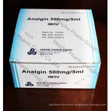Inyección Analgin