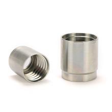 In stock fittings/adapters/ferrules hot forged carbon steel crimp hose ferrule