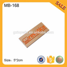 MB168 logo de la marque de meubles du Moyen-Orient, crayon arabe étiquette métallique adhésive