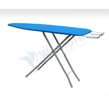 FOLDING ADJUSTABLE WOODEN IRONING BOARD