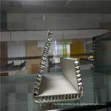 Bended Aluminium Honeycomb Panels for Exhibition Showing Stand