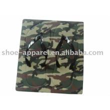 2013 camouflage board flip flops pantoufles