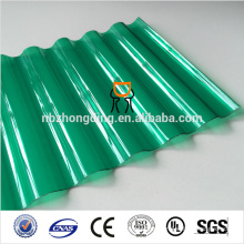2014 best sell corrugated polycarbonate roofing sheet