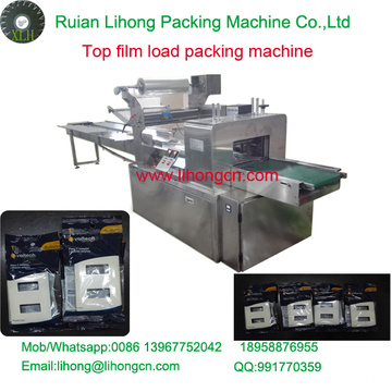 Gzb-450A High Speed Pillow-Type Wall Switch Top Film Packing Machine