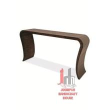 Table de console industrielle en fer