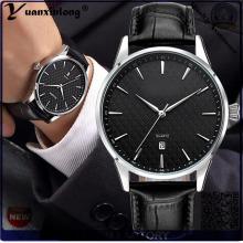 YXL-447 2016 Fashion pas cher prénatale Best-seller du poignet Quartz montre cuir véritable Calendrier Date montres hommes