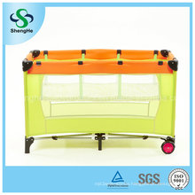 Simple Comfortable Baby Crib with Double Cot Bed