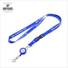 Good Quality Badge Holder Lanyard with Pull Reel for Making Custom Logo