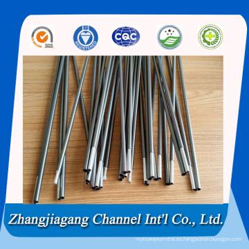 7001 aluminio tubo ajustable tienda poste 7075 aluminio poste de tienda