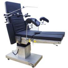 Mesa de operaciones hidráulica manual ortopédica del acero inoxidable