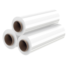 low price Customized size Waterproof Hand LLDPE Packing Stretch Film Roll for Furniture Packing