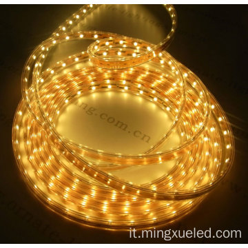 Striscia laterale Led Shine laterale a doppio canale 3014 Led Side Led Strip