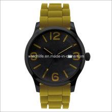 Arm Luminous Rubber Strap Men Wrist Watch