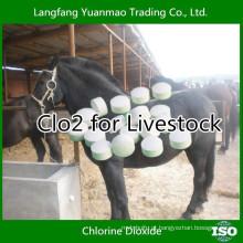 Desinfetante Veterinário de CLO2 para Pecuária