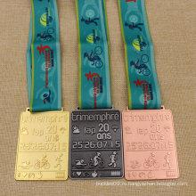 Изготовленный на заказ металл каратэ/бег/монета/медальон/золото/серебро/Бронза/эмаль/марафон/значок/Спорт медаль с лентой