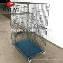 Best Selling Cat Cage, Ferret Cage 2 Door Crate with Hammock