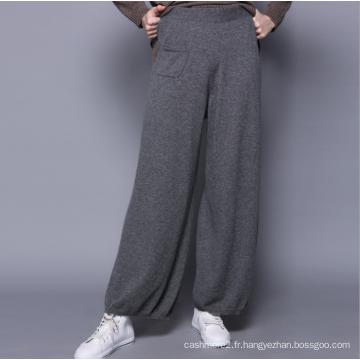 Nouveau 100% pantalons en cachemire, pantalons décontractés pour femmes, femmes lâches montrent, tempérament lâche, pantalons larges occasionnels