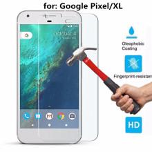 Película protectora del protector de la pantalla de cristal templado ultra claro para Google Pixel / Pixel XL