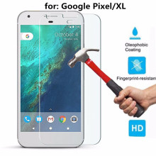 Premium Ultra Clear Tempered Glass Screen Protector Guard Film for Google Pixel / Pixel XL