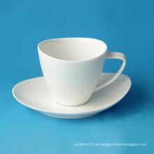 Juego de taza de café de porcelana, estilo # 433