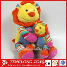 kids gift plush mom and baby toy