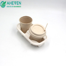 Big Sale Cheap Sugarcane Bagasse Cup With Lid Cold Juice Cup With Natural Color