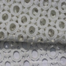 eyelet 104*88 100% embroidery cotton fabric for wholesale