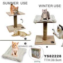 Árbol barato divertido del gato del sisal, productos del animal doméstico (YS82228)