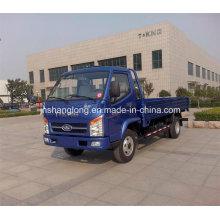 Caminhão leve modelo diesel da cama lisa de 1 tonelada