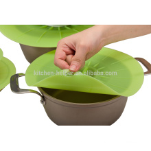 Hot Selling adjustable Good Grade Silicone Pot Lid Keep Fresh Silicone Pot Cover Lid