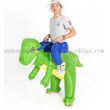 Benutzerdefinierte Festival aufblasbare Dinosaurier Anzug Kostüm für Leistung