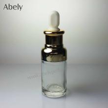 40mll botellas de aceite de vidrio en forma única