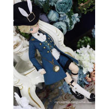 Bjd Clothes Red/Blue Suit for MSD Ball-jointed Doll