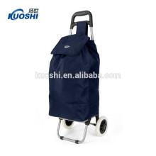 Faltbare Einkaufswagen Tasche mit 2 Rädern