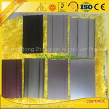 Perfil del piso del remolque de aluminio de la protuberancia de aluminio del ISO 9001