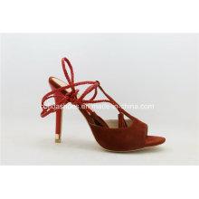 Sapatos de salto alto sexy de senhora Sandals