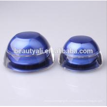 Куполообразная форма Акриловая косметическая кружка Jar 5мл 15мл 30мл 50мл