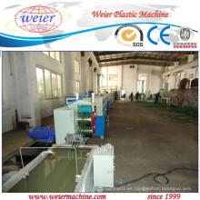 200kg / H de la cinta de la correa del animal doméstico que hace la planta de las escamas 100% recicladas del animal doméstico