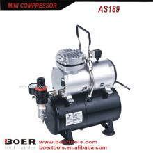 1 / 6HP Mini Compressor de ar com tanque de 3L