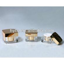Gold quadratisches Acrylglas