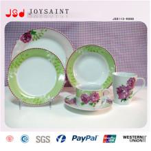 Platos de cena blancos baratos para el restaurante, placas de cena usadas a granel baratas del hotel