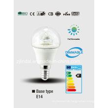 Lâmpada de dimmable LED cristal G45-T