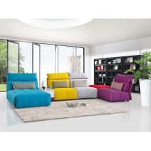 Sofá moderno de la tela de la sala de estar Muebles populares