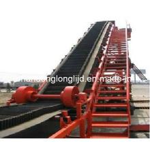 Rubber Polyester Raised Edge Conveyor Belt