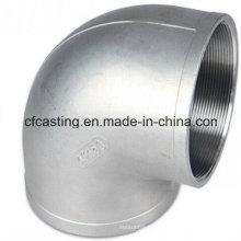 Investment Casting Elbow with External Thread