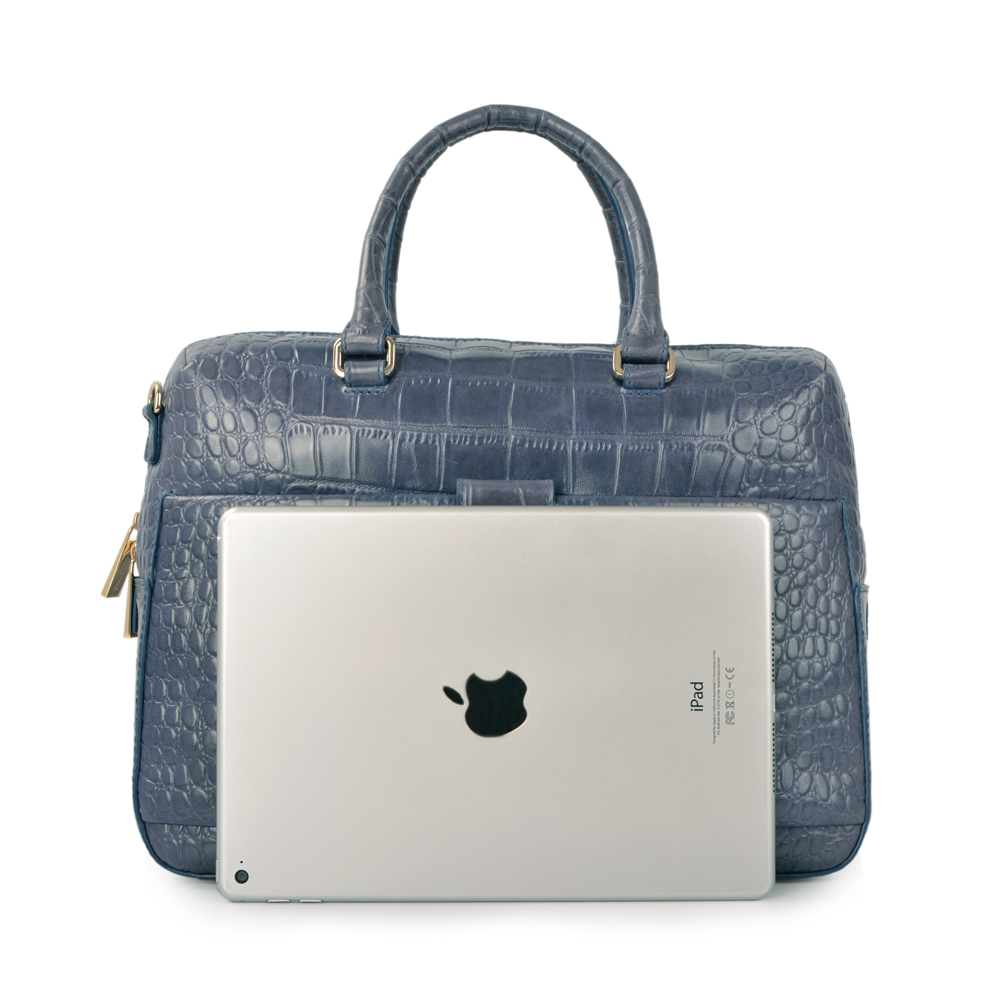 office ladies leather business bags genuine leather bag