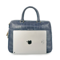 Handgemachte Krokodil Durable Frauen Laptop Business Bag
