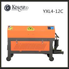 YXL4-12C entièrement automatique CNC rebar redressant la machine de découpe, redresseuse hydraulique