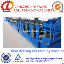 Barril tipo 3D Galvanizado acanalado hoja de hierro que hace la máquina
